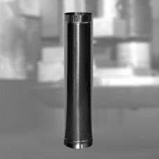 Труба L-1,0 м нержавеющая 304 0,8